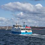 Carl Wilhelmsson färja Gullmarsfjorden tura Lysekil - Skaftö