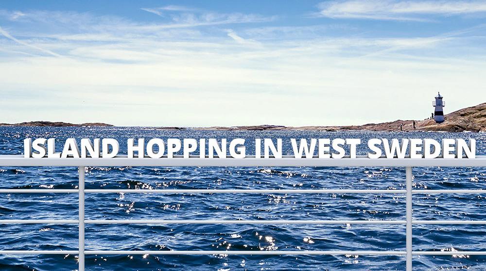 island hopping bohuslän
