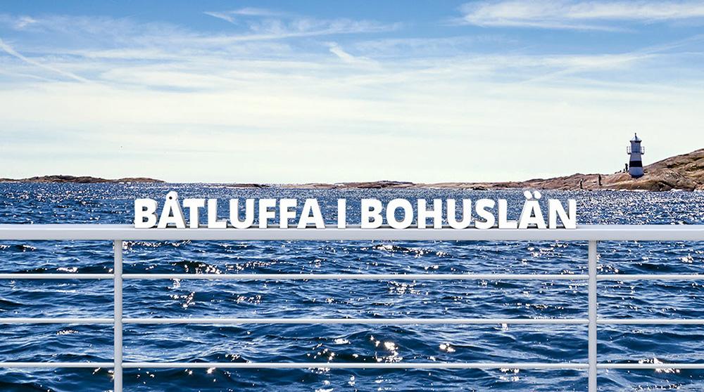 Båtluffa bohuslän